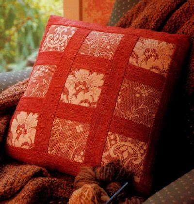 Everyday Celebrations Simple Patchwork Pillows Free Pattern - easy quilt patterns howstuffworks