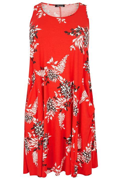 div placement limited collection floral drape pocket dress plus