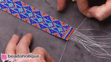 finishing a bead loom bracelet 17 best images about jewelry loom beaded on