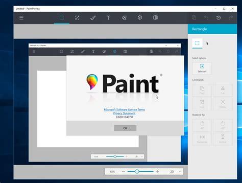 paints online windows 10 s upcoming paint app leaks online mspoweruser