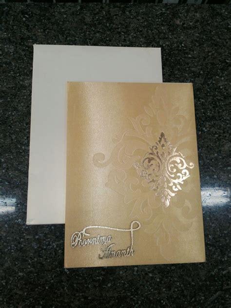 wedding invites in bangalore rajkumar paper products wedding invitation card in