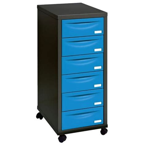 Tesco Filing Cabinet Buy Henry A4 6 Drawer Filing Cabinet Black With Blue Drawers From Our Filing Cabinets