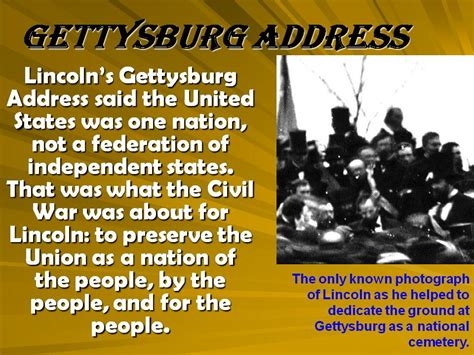 why did lincoln give the gettysburg address vus7c emancipation and gettysburg address