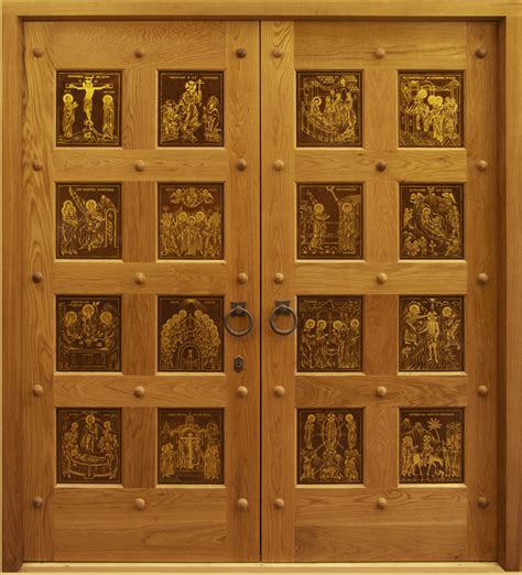 new doors for the russian orthodox church of st