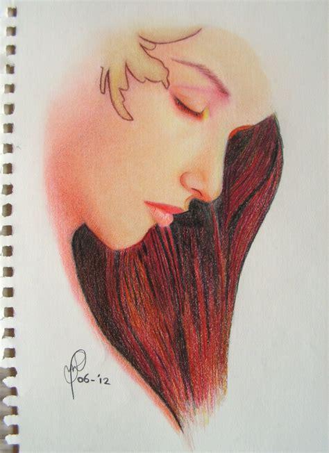 color pencil sketch colour sketch simple color pencil drawings