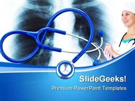 powerpoint themes free download x ray x ray and stethoscope medical powerpoint templates and