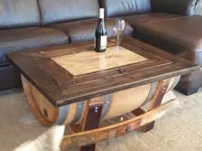 Wine Coffee Table Wine Barrel Coffee Table Furniture Livingroom