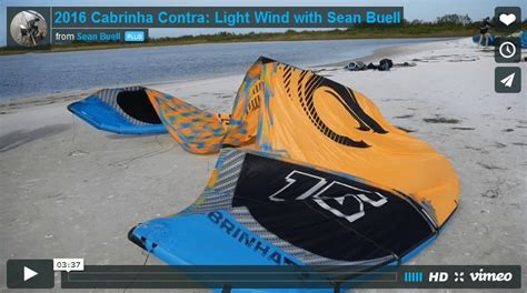 best light wind kite 2017 2016 cabrinha contra light wind with buell