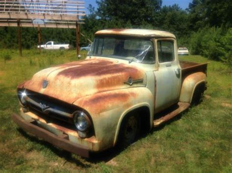 find   ford  fleetside short box project truck good patina  amsterdam  york