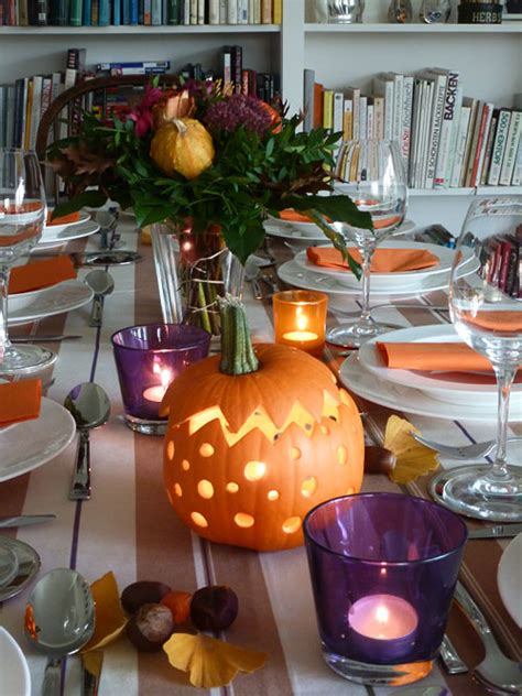 Deko Blätter Herbst 2616 by Tipps Tricks Tisch Dekorieren F 195 188 R Thanksgiving