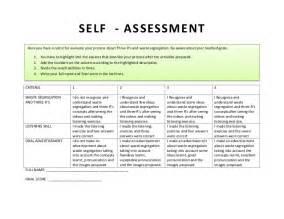 clil self assessment rubric