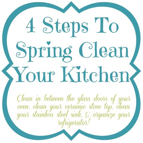 clean your kitchen spring clean your kitchen mom 4 real