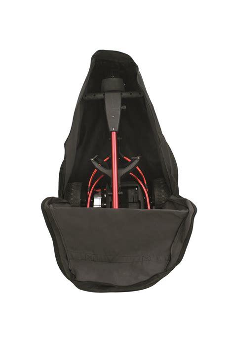 electric golf trolley cart caddy travel carry bag ebay
