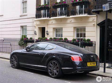 bentley london bentley continental gt speed 2012 26 february 2013