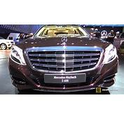 2016 Mercedes Benz Maybach S600  Exterior And Interior