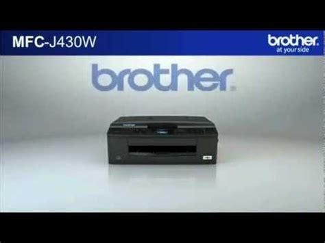 mfc j430w brother mfc j430w youtube