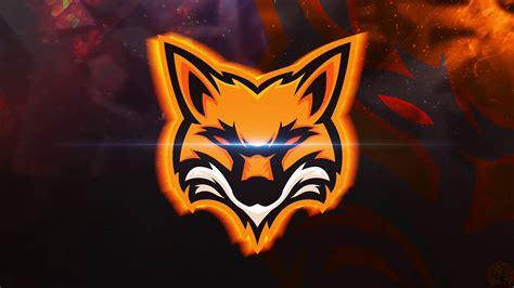 the gamer fox fox mascot logo gaming speedart