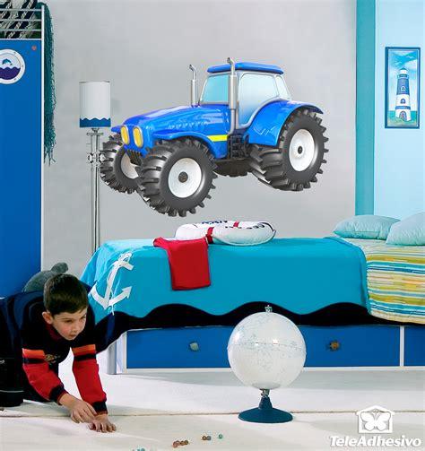 Wandtattoo Kinderzimmer Trecker by Traktor