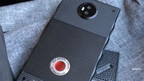 Microwave With Toaster Oven The Bizarre Red Hydrogen One Phone Makes Its Big Screen