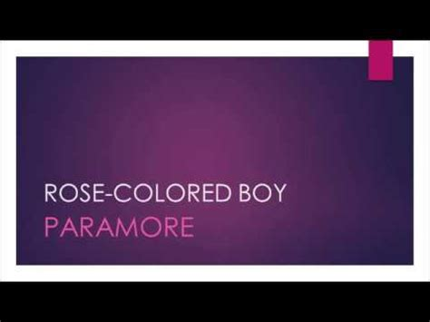 colored lyrics colored boy lyrics buzzpls