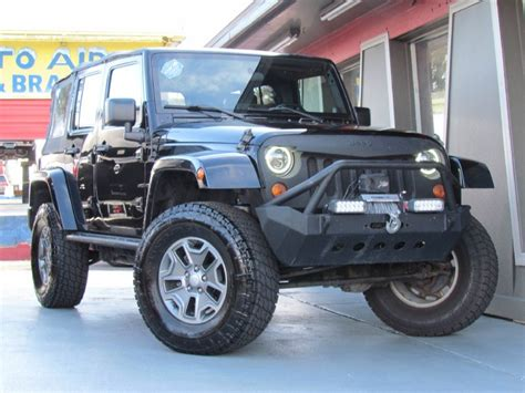 used jeep wrangler 4 door for sale 2007 jeep wrangler suv 4 door in florida for sale 29 used