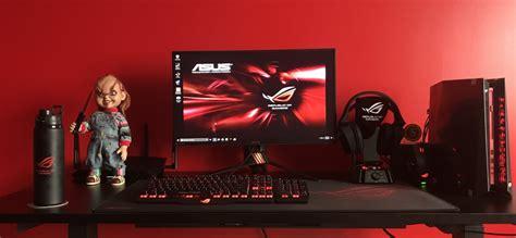 Pc Gaming Chair Asus Rog 4 000 Gaming Setup Mysetup Co
