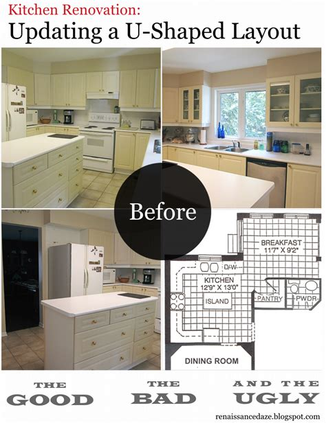 U Shaped Kitchen Design Ideas by Renaissance Daze Kitchen Renovation Updating A U Shaped