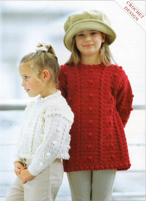 crochet pattern jumper crochet pattern girls crochet sweater girls crochet jumper