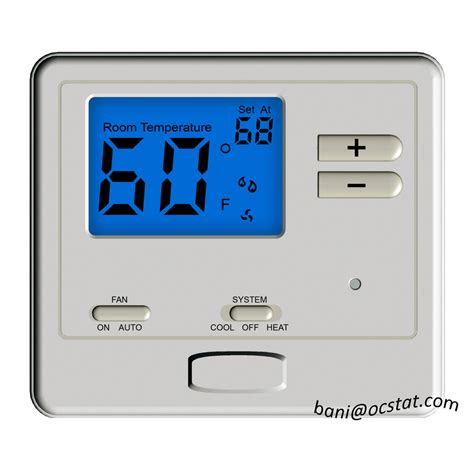 thermostat swing digistat non programmable temperature control room