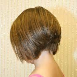 inverted bob hairstyle pictures rear view back view of short angled bob haircuts back view of