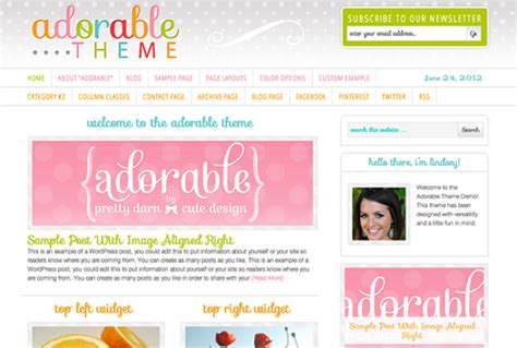 cute themes for wordpress free download premium wordpress themes for craft business craft maker