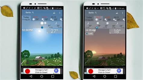 best weather widget for android 10 best weather apps and widgets for android androidpit