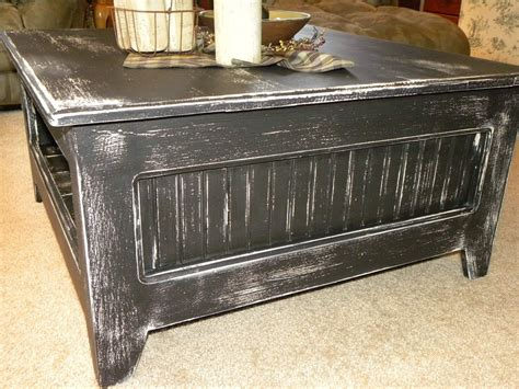 Hand Crafted Primitive Square Coffee Table By Rustic Primitive Coffee Table