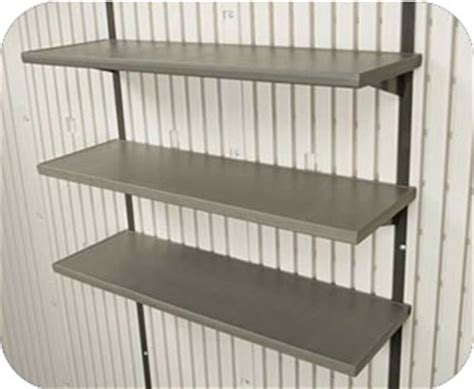 Metal Shed Shelving by Shed Shelving Tool Hooks