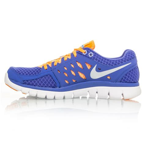 shop nike womens running shoes nike flex 2013 rn womens running shoes blue orange