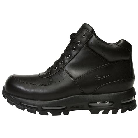black nike boots size 13 black nike acg boot muslim heritage