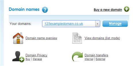 website section names how do i forward my domain name to another website 123
