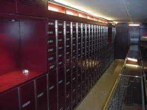 servizio cassette di sicurezza cassette di sicurezza