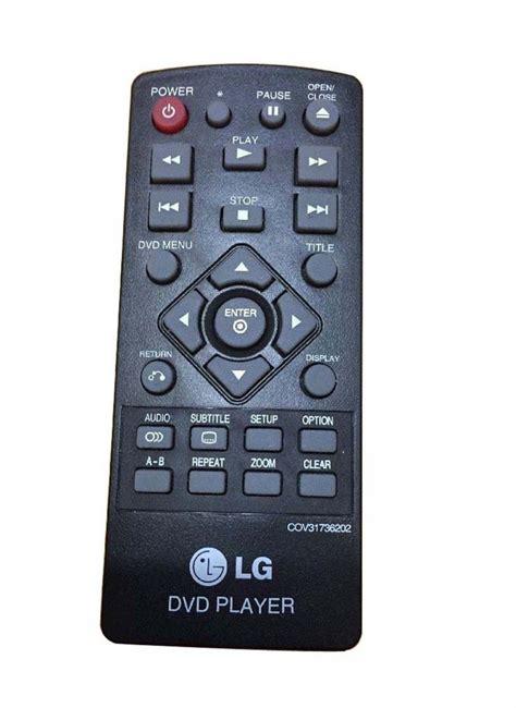 Lg Electronics Dp132 Dvd Player new remote cov31736202 for lg dvd player dp132nu dp132