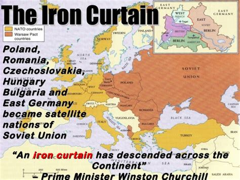 a peep under the iron curtain the cold war begins