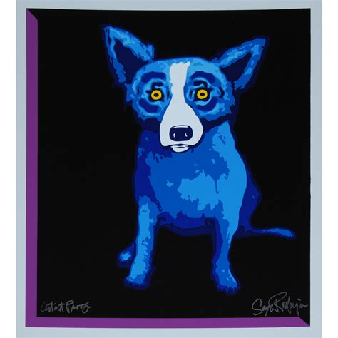 rodrigue blue untitled blue on black background no rodrigue ftigallery