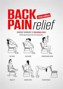 Back Support For Office Chair Back Pain Relief Chair