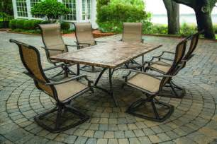 Patio Dining Sets At Menards 7 Fresno Dining Collection