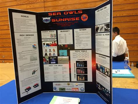 science fair poster board template poster board exles alvin seaperch