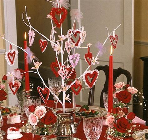 valentine table decorations valentines day table decorations valentines pinterest