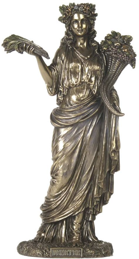 Demeter Greek Goddess Statue | demeter greek goddess of harvest statue stu home