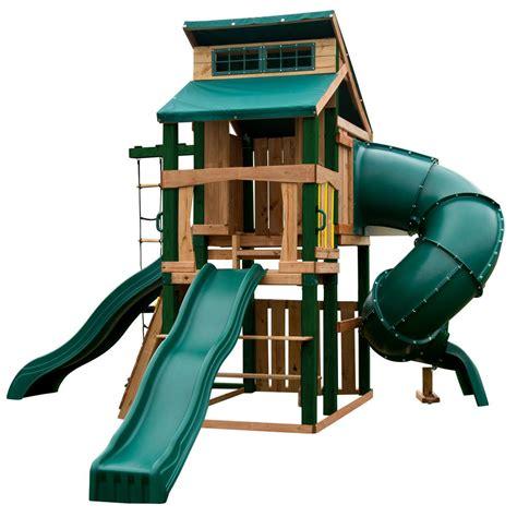 swing n slide alpine wave slide swing n slide playsets hideaway clubhouse ultimate playset