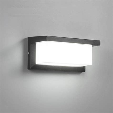 18w outdoor lighting modern wall light led wall sconce