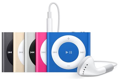 Ipod Shuffle Now In Color by Ipod Shuffle Apple S Cheapest Ipod Now Discontinued