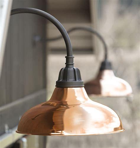 carson gooseneck wall sconce copper lighting copper light fixture outdoor light fixtures